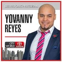 Yovanny Reyes at City World Toyota