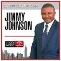 Jimmy  Johnson at City World Toyota