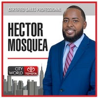 Hector Mosquea at City World Toyota