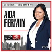 Aida Fermin at City World Toyota