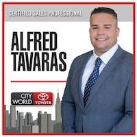 Alfred Tavarez at City World Toyota