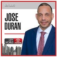Jose Duran at City World Toyota