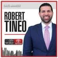 Robert Tineo at City World Toyota