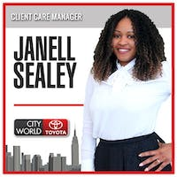 Janell Sealey at City World Toyota