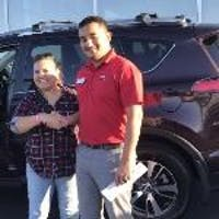 Edwin Perez at Toyota of Lancaster