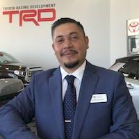 Ernesto Baltier at Toyota of Lancaster