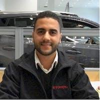 Abe Ettayb  at Sloane Toyota of Malvern