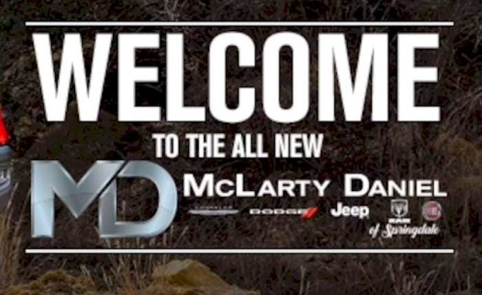 McLarty Daniel Chrysler Dodge Jeep Ram Fiat of Springdale, Springdale, AR, 72764