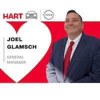 Joel Glamsch at Hart Nissan of NOVA