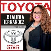 Claudia Hernandez at Star Toyota of Bayside