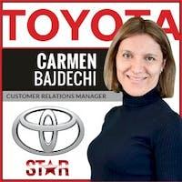 Carmen Bajdechi at Star Toyota of Bayside