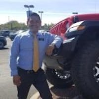 Gene Noperi at Larry H. Miller Chrysler Jeep Tucson