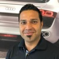 Zabih Rahim at Audi Stevens Creek