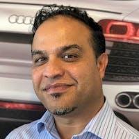 Mohammad Farhad at Audi Stevens Creek