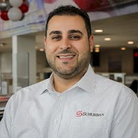 Steven Salman at Suburban Toyota of Troy