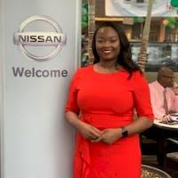 Arlene Majuste  at Sutherlin Nissan Mall of Georgia