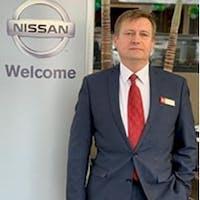 Andrey  Nikolaev at Sutherlin Nissan Mall of Georgia