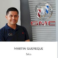 Martin Guereque at Barker Buick GMC