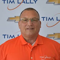 Lou Schreiner at Tim Lally Chevrolet