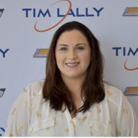 Danielle Slapnicker at Tim Lally Chevrolet