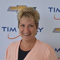 Tina Procaccini at Tim Lally Chevrolet