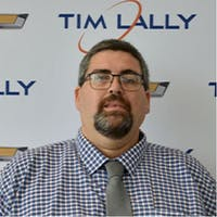George  Cada at Tim Lally Chevrolet