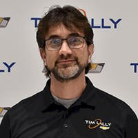 Matt Nagy at Tim Lally Chevrolet - Service Center