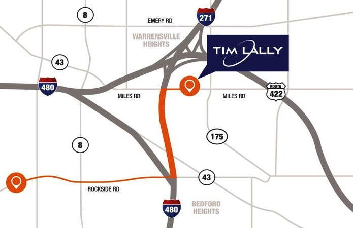 Tim Lally Chevrolet, Warrensville Hts, OH, 44128