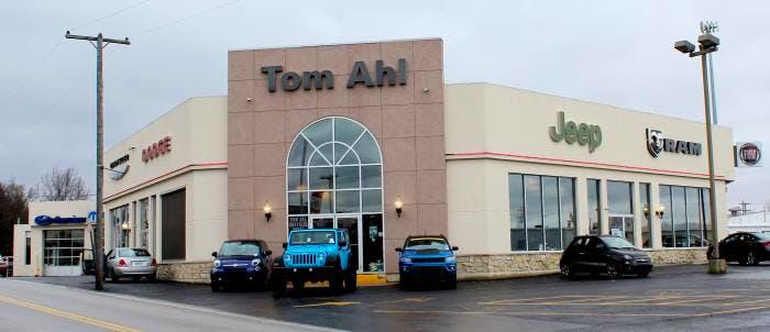 Tom Ahl Lima Ohio >> Tom Ahl Family Of Dealerships Chrysler Dodge Jeep Ram