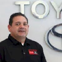 Aldo Ginossi at DCH Toyota of Torrance