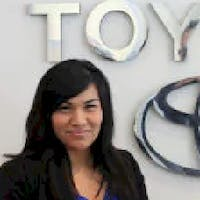 Irene Rios at DCH Toyota of Torrance