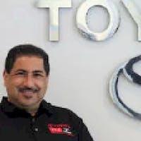 Richard Perez at DCH Toyota of Torrance - Service Center