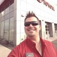 """Robert """"Bobby D"""" Dorfe at Luther Brookdale Toyota"""
