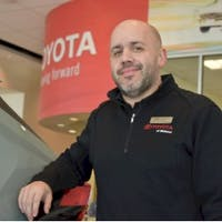 Jordan LaFranca at Toyota of Midland
