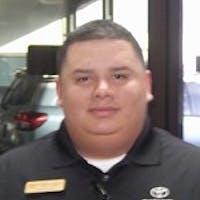 Robert  Garcia  at Toyota of Dallas