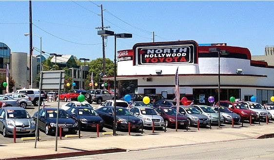North Hollywood Toyota, North Hollywood, CA, 91602