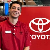 Anthony Mateo  at Nalley Toyota of Roswell