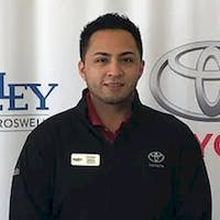 Chrisitan Cabrera at Nalley Toyota of Roswell