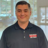 Hector Flores at Norm Reeves Toyota San Diego