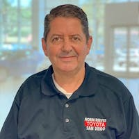 Jose Jimenez at Norm Reeves Toyota San Diego