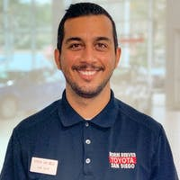 Sal Becerra at Norm Reeves Toyota San Diego