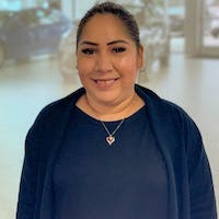 Rosalina Canez at Norm Reeves Toyota San Diego