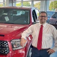 Jarett Perlmutter at Treasure Coast Toyota Of Stuart