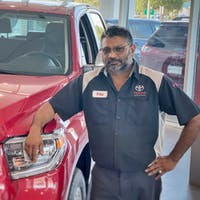 Fraz Husain at Treasure Coast Toyota Of Stuart