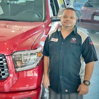 Victor Diaz at Treasure Coast Toyota Of Stuart