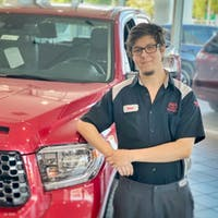Sean Hazan at Treasure Coast Toyota Of Stuart