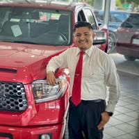 Deltom Lequernaque at Treasure Coast Toyota Of Stuart