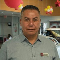 Carlos Parga at Nissan of Sacramento