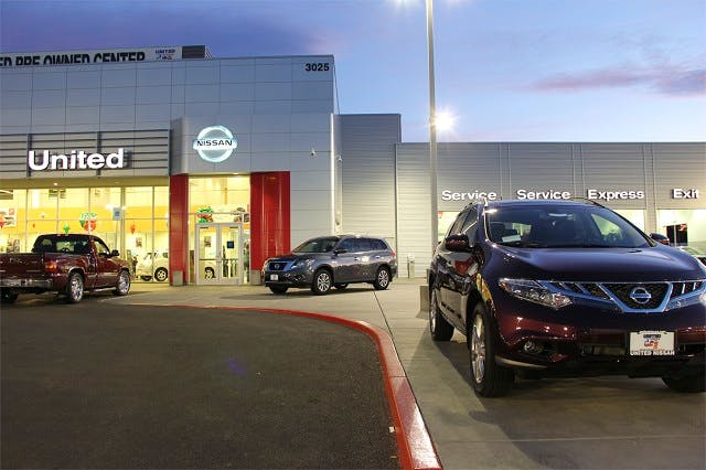 United Nissan Las Vegas >> United Nissan Nissan Used Car Dealer Service Center