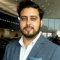 Naushad Limbada at Audi Dallas